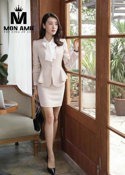 Đồng Phục Vest Nữ Công Sở pn944